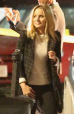 Kristen Bell Gets back into action on the set of