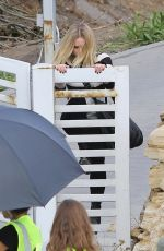 Kristen Bell On the set of her new movie in Malibu