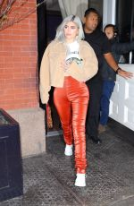 Kylie Jenner At night out in NYC