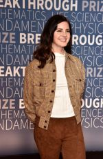 Lana Del Rey At 2019 Breakthrough Prize in Mountain View