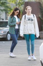 Lana Del Rey Shopping with a friend in West Hollywood