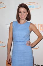 Laura Leighton At Lupus LA 16th Annual Hollywood Bag Ladies Luncheon at The Beverly Hilton Hotel in Los Angeles