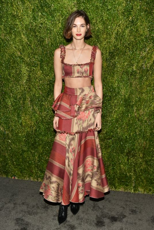 Laura Love At 15th Annual CFDA Vogue Fashion Fund Awards, Ceremony, New York