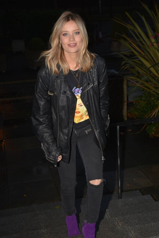 Laura Whitmore At Eoghan McDermott Show & Ray Darcy Show, RTE in Dublin, Ireland