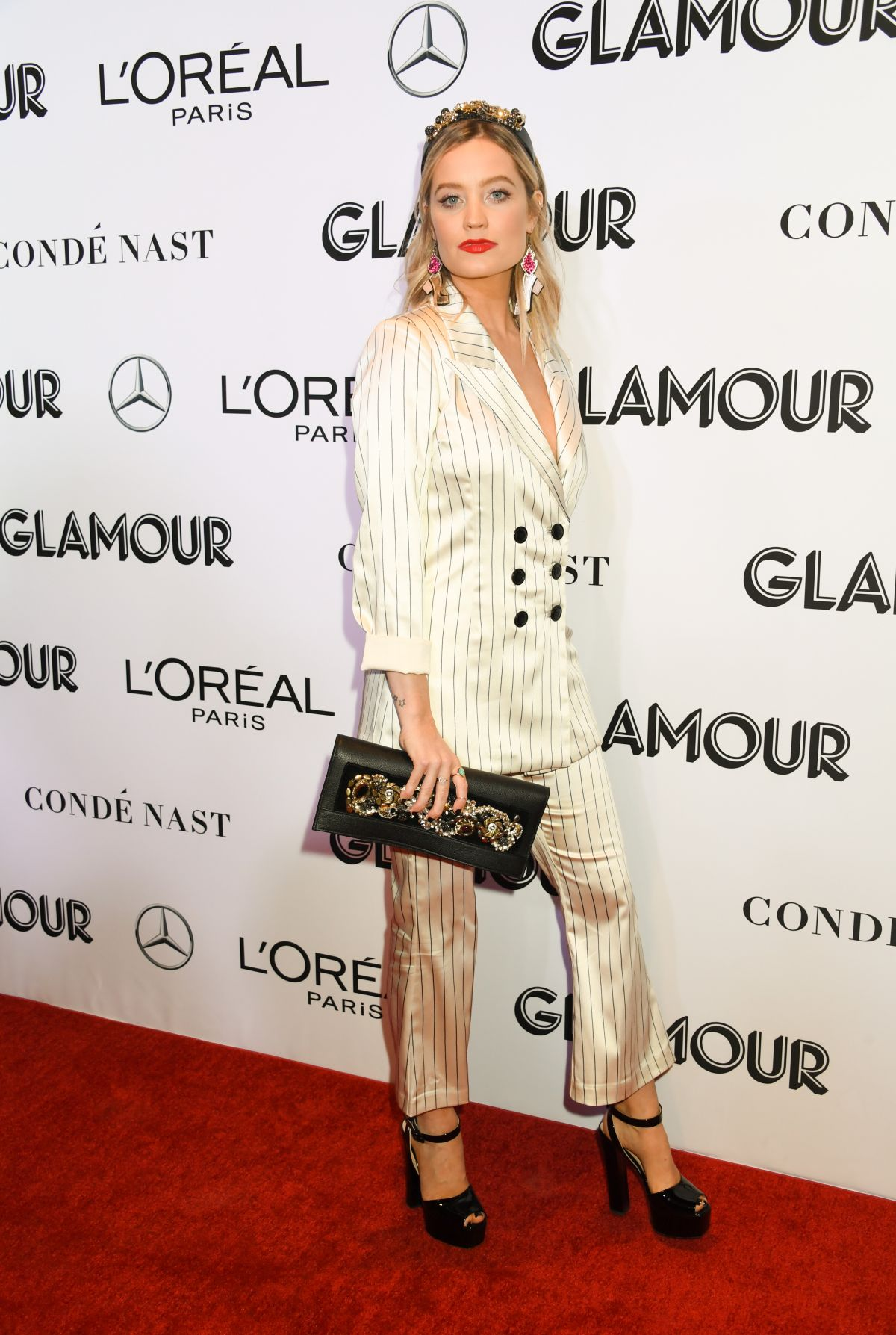 092fe9d8e9dd Laura Whitmore At Glamour's 28th Annual Women of the Year Awards, New York