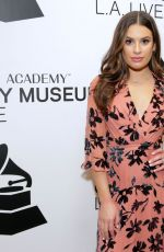 """Lea Michele At """"An Evening With Lea Michele"""" at The GRAMMY Museum in LA"""