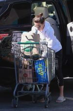 Lea Michele Outside Whole Foods in Brentwood