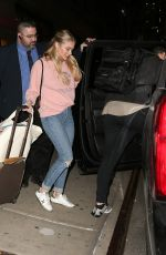 LeAnn Rimes Checks out from The Greenwich Hotel in New York
