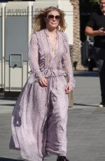 LeAnn Rimes Filming an upcoming new project in Los Angeles