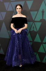 Lily Collins At 10th annual Governors Awards in Hollywood