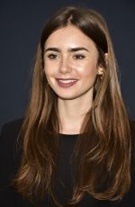 Lily Collins At Academy Nicholl Fellowships in Screenwriting Awards in Beverly Hills