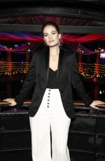 Lily James At National Youth Theatre Fundraising Evening in London