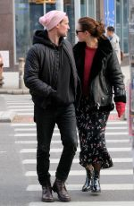 Lily James & Matt Smith On a stroll in New York