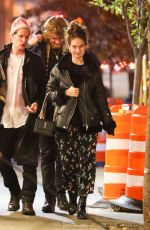 Lily James & Matt Smith Spotted after having dinner at Emilio
