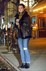 Lily James Out in Manhattan
