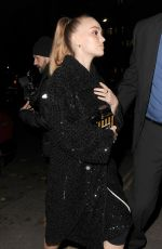 Lily-Rose Depp Attending Chanel party at Annabel