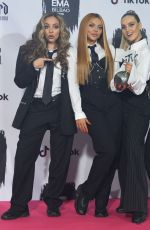 Little Mix At 2018 MTV Europe Music Awards in Bilbao, Spain