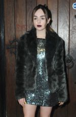Louisa Connolly-Burnham At Launch party of new feminine care brand Woo Woo at The Box Soho in London