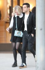 Lucy Boynton On Rodeo Drive in Beverly Hills