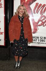Lucy Fallon At Kinky Boots Press Night at The Opera House Theatre in Manchester