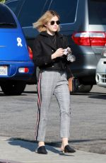 Lucy Hale Starts her morning off a trip to Starbucks in Studio City