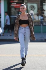 Madison Beer and a friend are spotted out shopping at Necromance in West Hollywood