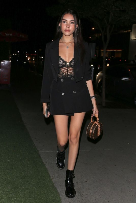 Madison Beer At BOA Steakhouse in West Hollywood