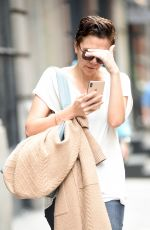 Maggie Gyllenhaal Out and about in Soho