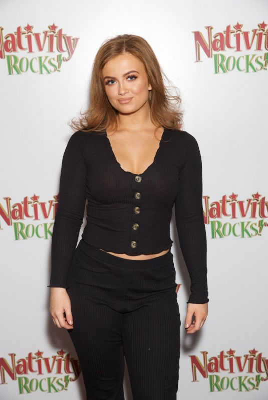 Maisie Smith At Nativity Rocks special film screening in London