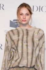 Makenzie Leigh At Guggenheim International Gala Pre-Party Made Possible BY Dior, New York