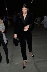 Mandy Moore Leaves an event at The Henry in West Hollywood