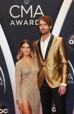 Maren Morris At The 52nd Annual CMA Awards in Nashville