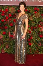 Margo Stilley Attends the 64th Evening Standard Theatre Awards held at the Theatre Royal in London