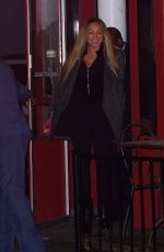 Mariah Carey At dinner out in New York City
