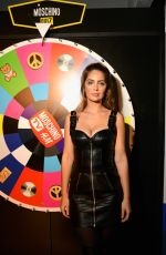 Marie-Ange Casta At MOSCHINO [tv] H&M Launch Party in Paris