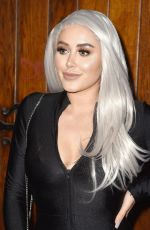 Marnie Simpson At Launch party of new feminine care brand Woo Woo at The Box Soho in London