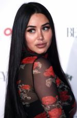 Marnie Simpson At The Beauty Awards with OK! in London