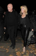 Michelle Collins At Phil Turner 50th Birthday Party, London
