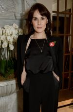 Michelle Dockery At Jenny Packham x Dita Von Teese Dinner at The Connaught, London, UK