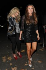 Michelle Heaton At Phil Turner 50th Birthday Party, London