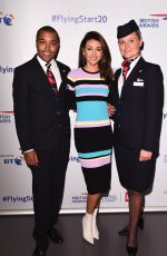 Michelle Keegan & Una Healy At British Airways Celebration Party in London