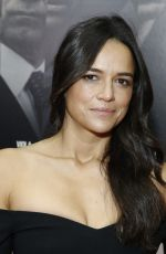 "Michelle Rodriguez At ""Widows"" New York Special Screening"