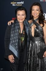 Ming-Na Wen At 4th Annual Asian World Film Festival Closing Night Screening in Culver City