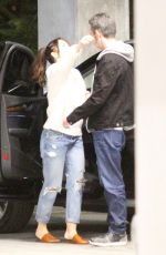 Minka Kelly Cozies up to a mystery man after a movie date in Hollywood