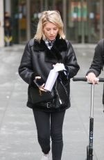 Mollie King At BBC studios in London