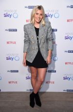 Mollie King At SkyQ Party Arrivals at The Vinyl Factory - London