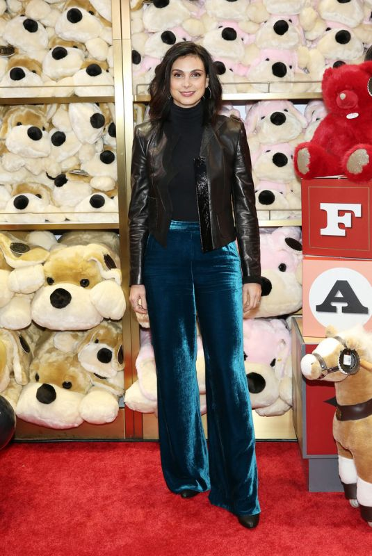 Morena Baccarin At FAO Schwarz Grand Opening Event at Rockefeller Plaza in NYC
