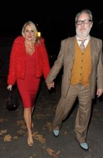 Nancy Sorrell Arrives at arrives at Phil Turner 50th Birthday Party, London
