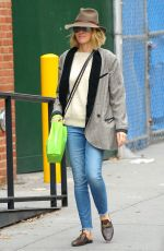 Naomi Watts Out and about in Soho