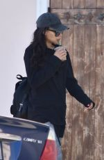 Naya Rivera Grabs a cold drink while out doing some shopping in Studio City